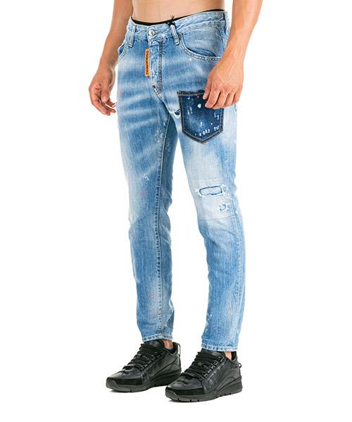 Herren jeans denim skater secondary image