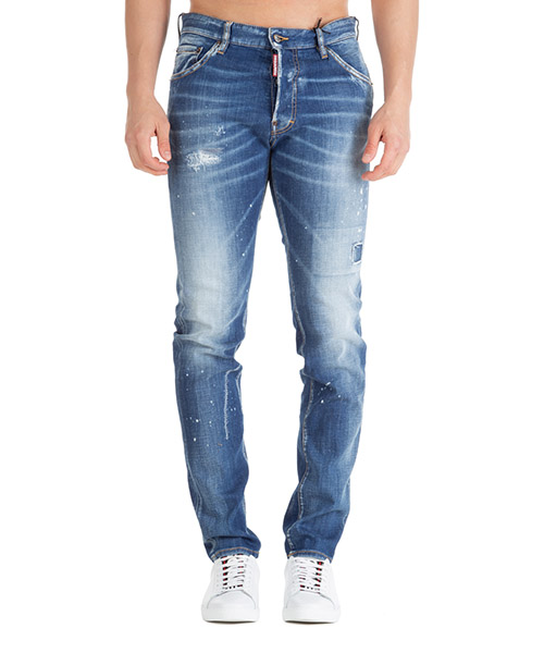 Jeans Dsquared2 cool guy s74lb0670s30342470 azzurro