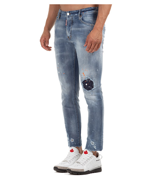 Men's jeans denim skater secondary image