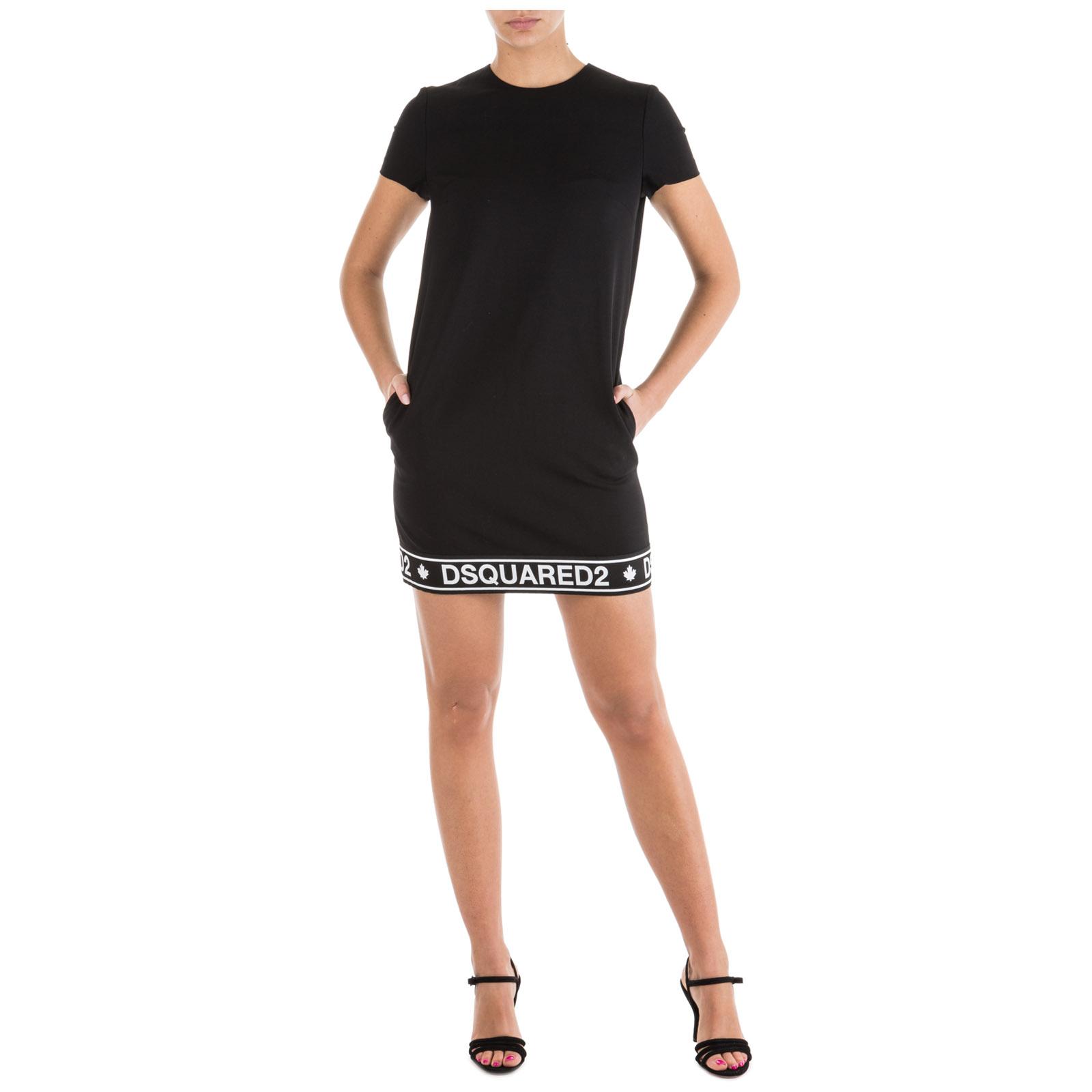 ... Vestito abito donna al ginocchio manica corta 6dfe82180a9