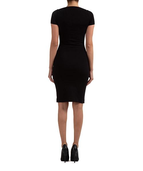 Damen kleid knielänge kurze Ärmel secondary image