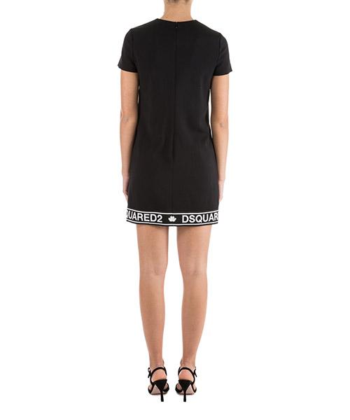 Robe femme au genou manches courtes secondary image