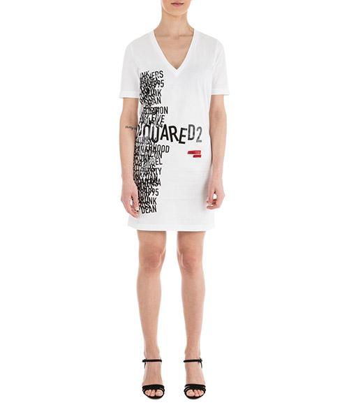 T-shirt Dsquared2 S75CU0936 S22427.100 bianco
