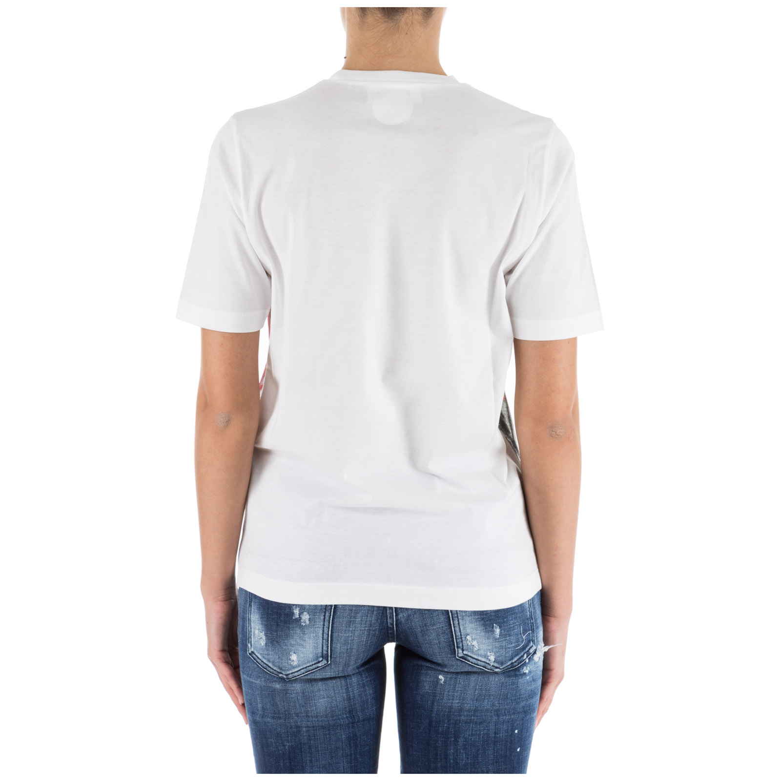 Women's t-shirt short sleeve crew neck round