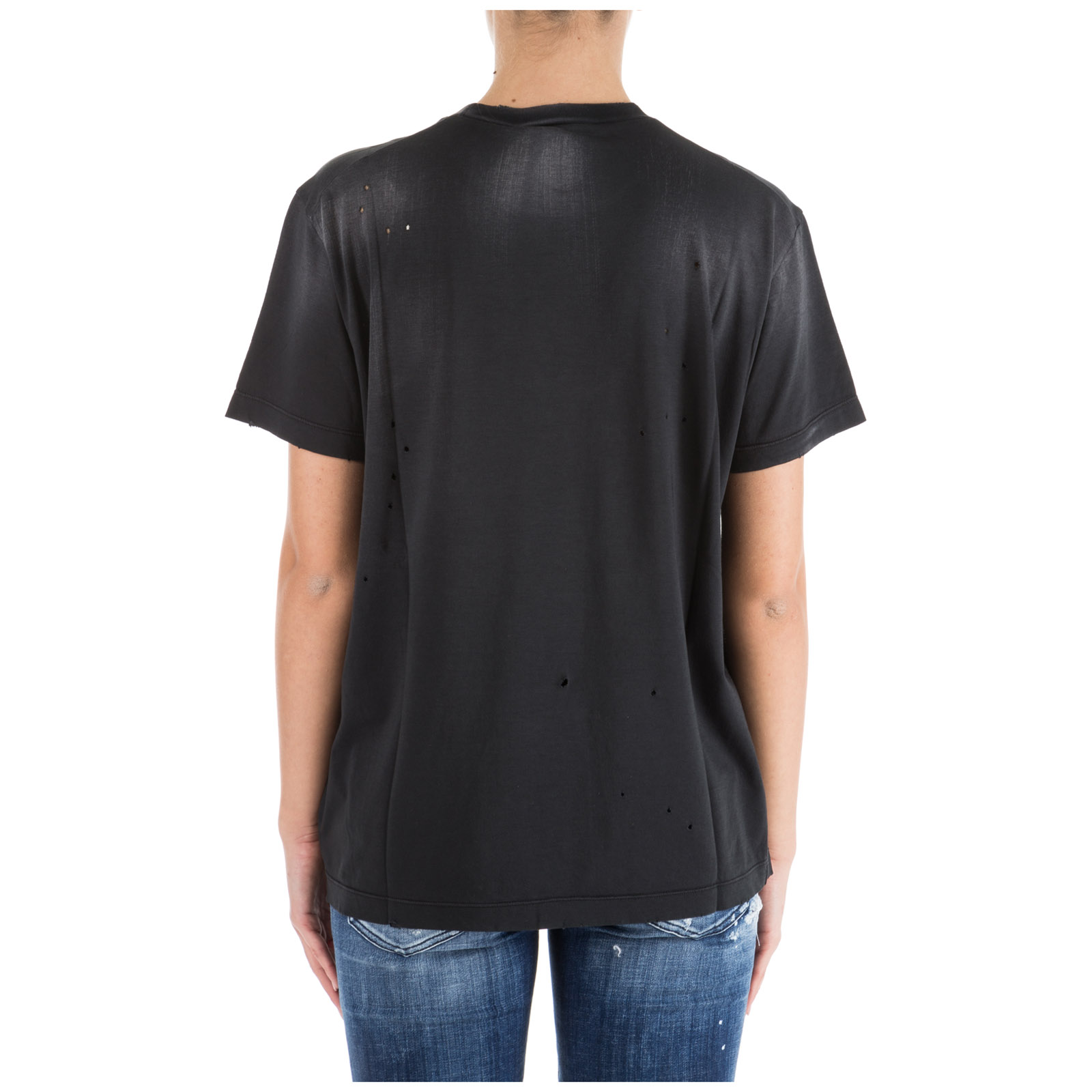Women's t-shirt short sleeve crew neck round vicious bros