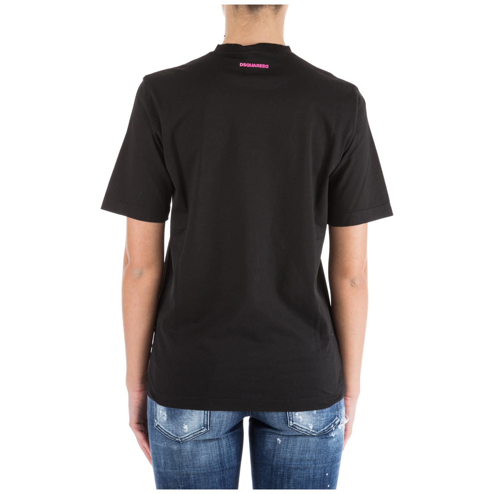 Women's t-shirt short sleeve crew neck round icon
