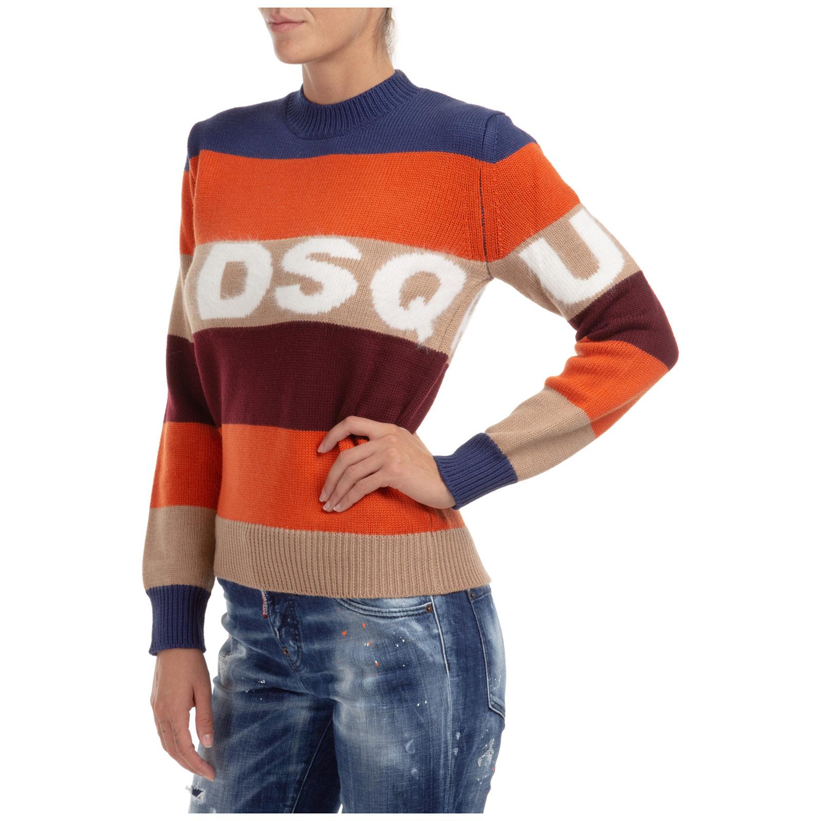 Women's jumper sweater crew neck round