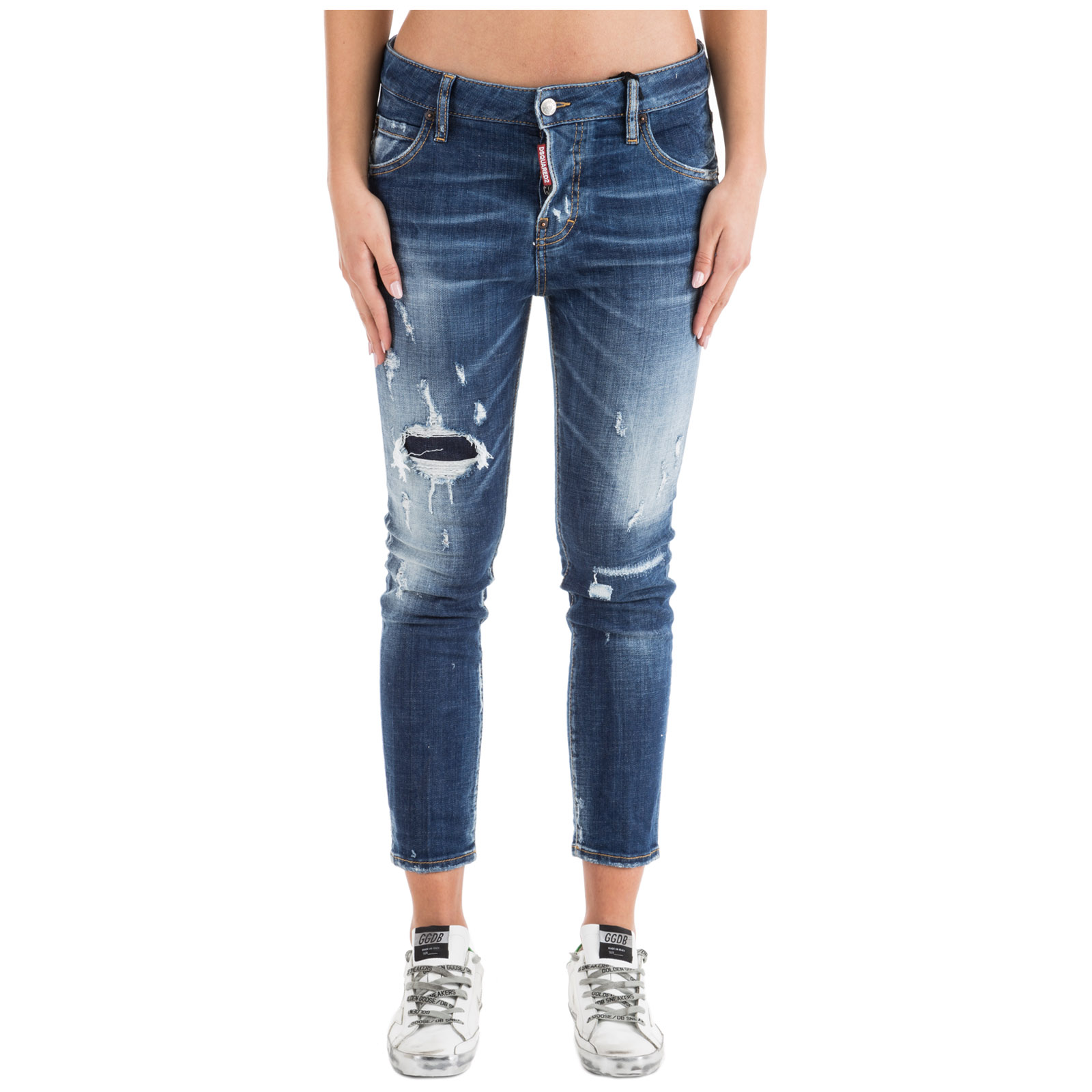 Jeans gamba dritta donna cool girl cropped