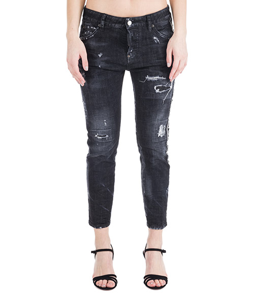 Jeans Dsquared2 Cool girl cropped S75LB0081S30357900 nero