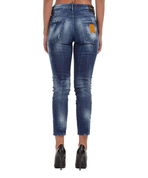 Damen gerade strechthose jeans  cool girl secondary image