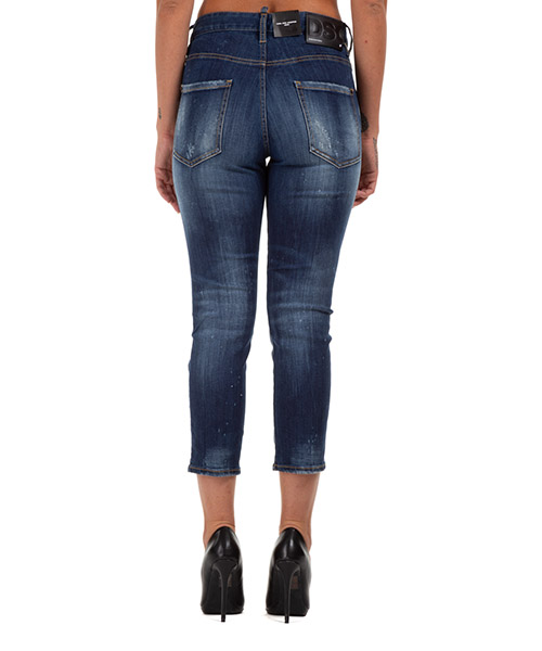 Damen gerade strechthose jeans  cool girl cropped secondary image