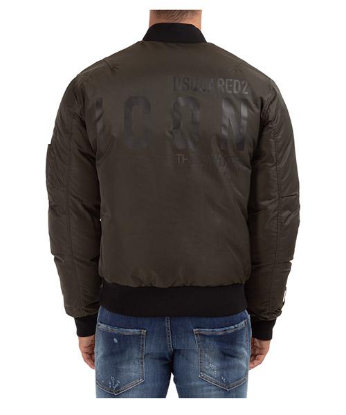 Men's bomber outerwear down jacket blouson icon secondary image