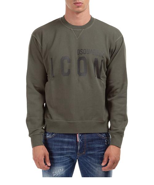 Sweatshirt Dsquared2 Icon S79GU0004S25042814 verde
