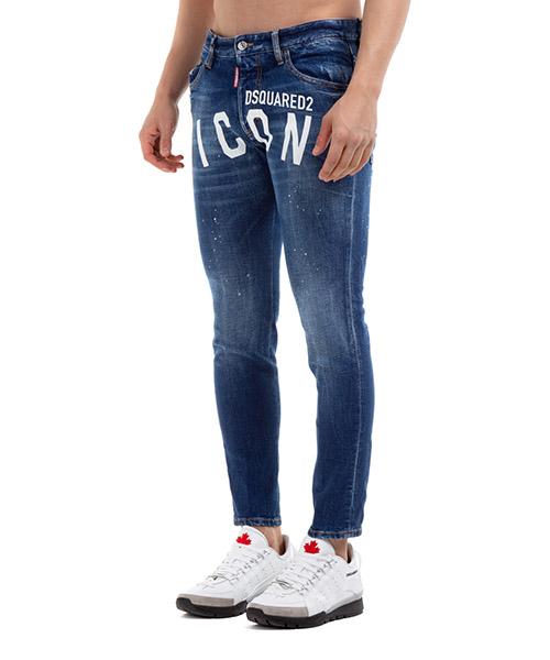 Vaqueros jeans denim de hombre pantalones icon dan skinny secondary image