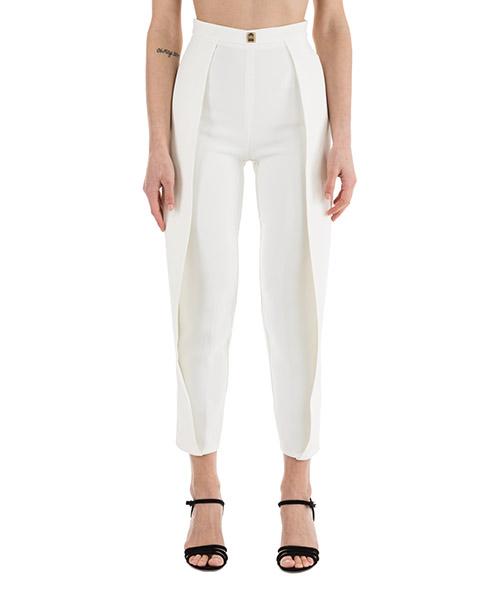 Pantalones Elisabetta Franchi PA8013715 avorio