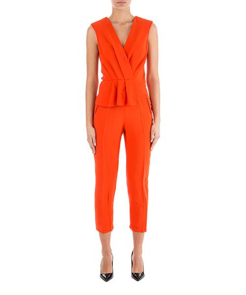 Tuta elegante Elisabetta Franchi TU04477E2 arancione