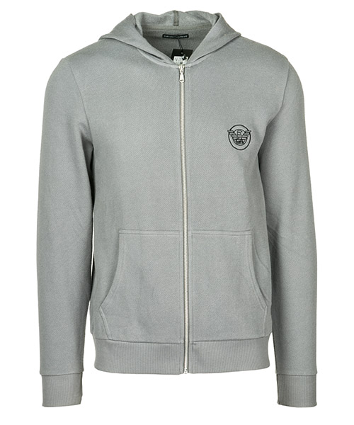 Zip sweatshirt  Emporio Armani 1116668A57500044 anthracite grey