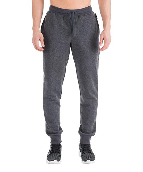 Sport trousers  Emporio Armani 1116908A57157720 black / melange grey