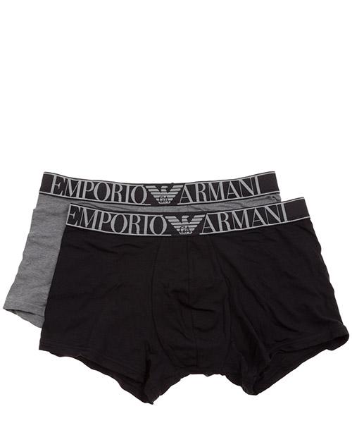 Boxershorts Emporio Armani 1117690a72008649 nero / grigio