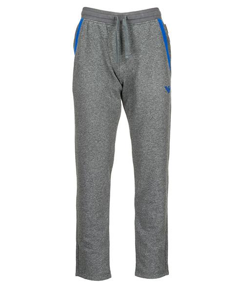 Pantaloni tuta Emporio Armani 1118098A57157720 black melange grey