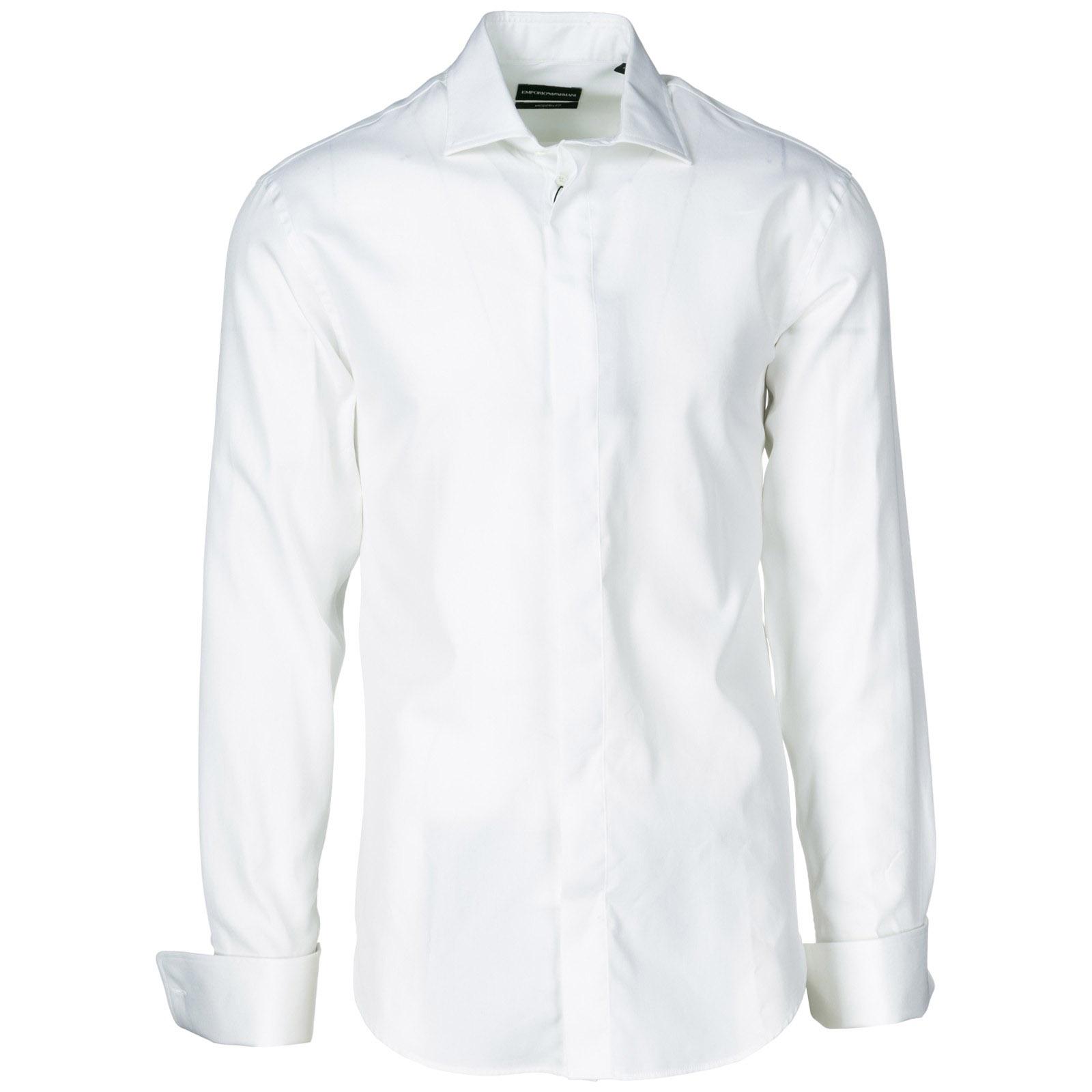 Camicia uomo maniche lunghe modern fit