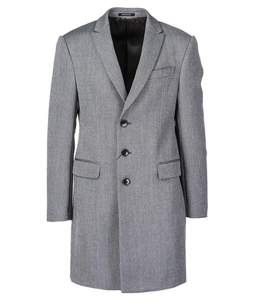 Cappotto Emporio Armani 11LMA011906 631 grigio