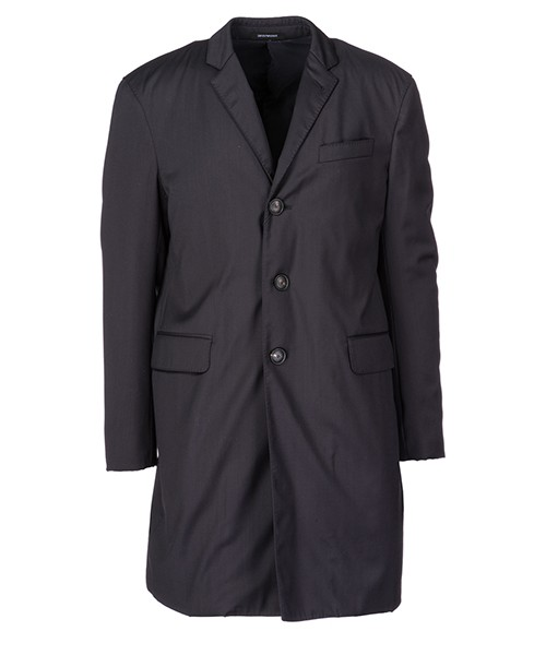 Cappotto Emporio Armani 11LSD001503926 blu