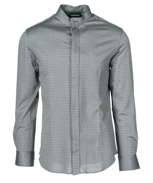 Camicia Emporio Armani 11SMRL114F0 042 grigio