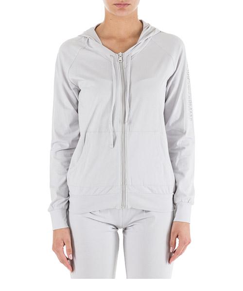 Zip up sweatshirt  Emporio Armani 1638918A26309117 silver