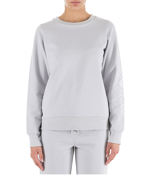 Sweatshirt Emporio Armani 1639648A25009117 silver