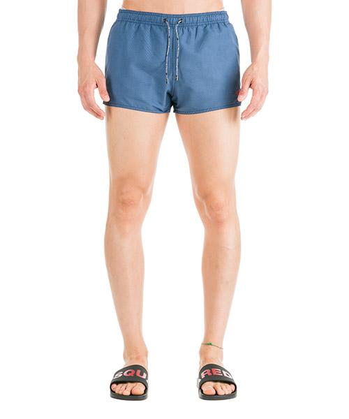 Swimming trunks Emporio Armani 2117479P43411832 polka dot blue