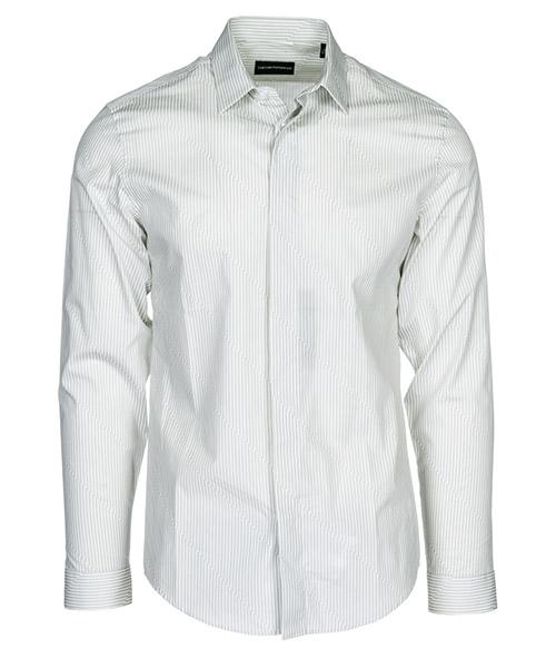 Camisa Emporio Armani 21CC1T216F0011 grigio