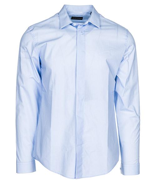Camisa Emporio Armani 21CC1T216F8019 blu