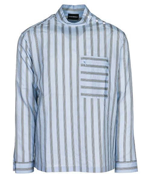 Camisa Emporio Armani 21CF1T216F7021 azzurro