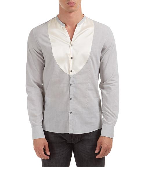 Camisa Emporio Armani 21CF3T216F3021 grigio