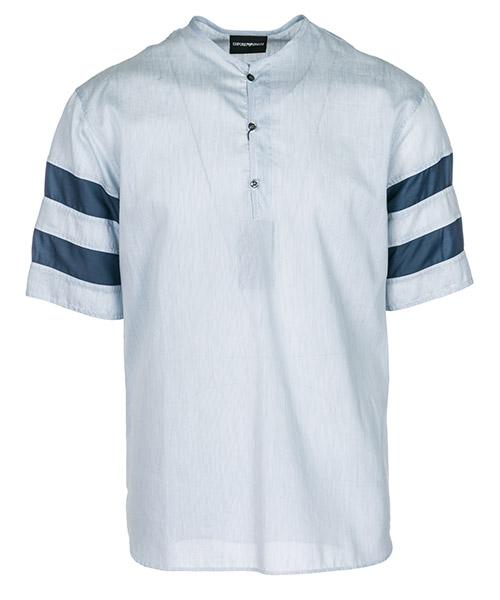 Camisa de mangas cortas  Emporio Armani 21CF6T217F1019 azzurro