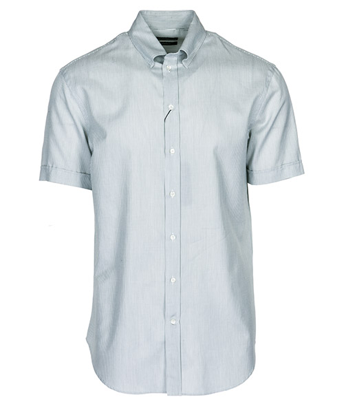 Camisa de mangas cortas  Emporio Armani 21CM1M21C03017 grigio