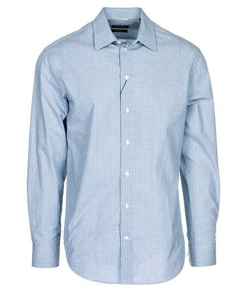 Camisa Emporio Armani 21CM5L21C44041 azzurro