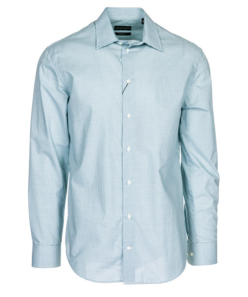 Camisa Emporio Armani 21CM5L21C54030 azzurro