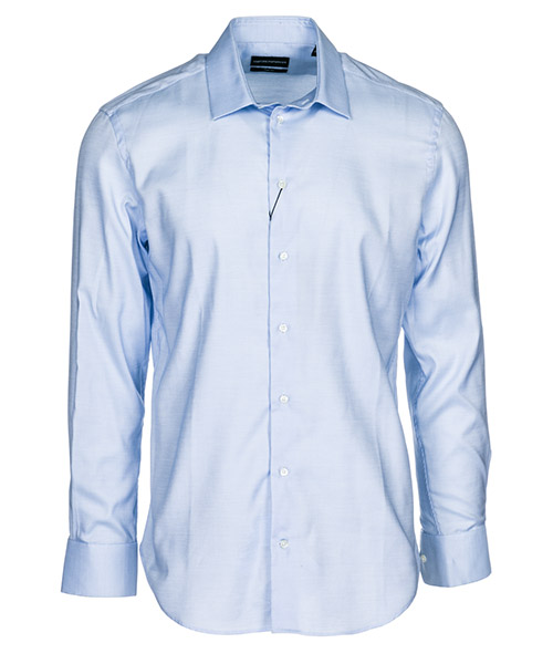 Camicia Emporio Armani 21CSPL21C14041 azzurro