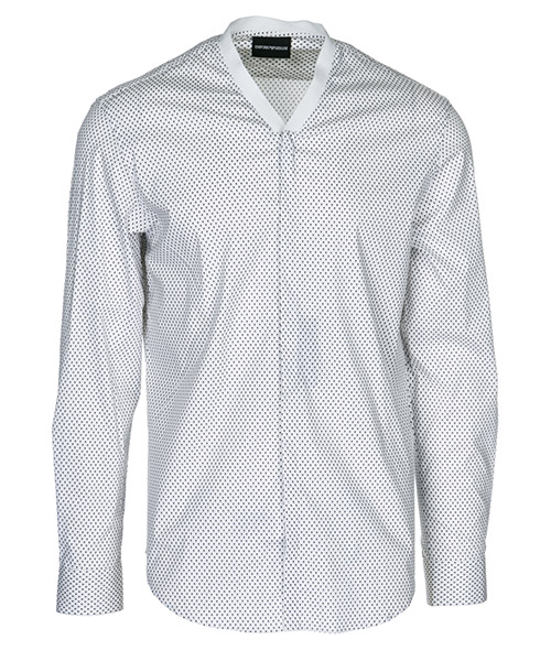 Shirt Emporio Armani 21SMAL213F5041 bianco