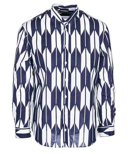 Camisa Emporio Armani 21SMGL211F3041 blu