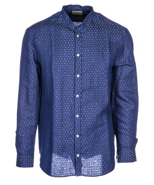 Camicia Emporio Armani 21SMGL212F5041 blu