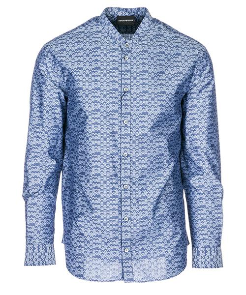 Camisa Emporio Armani 21SMGL212F8 blu