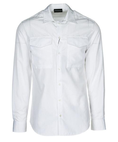 Shirt Emporio Armani 21SMML213F2100 bianco