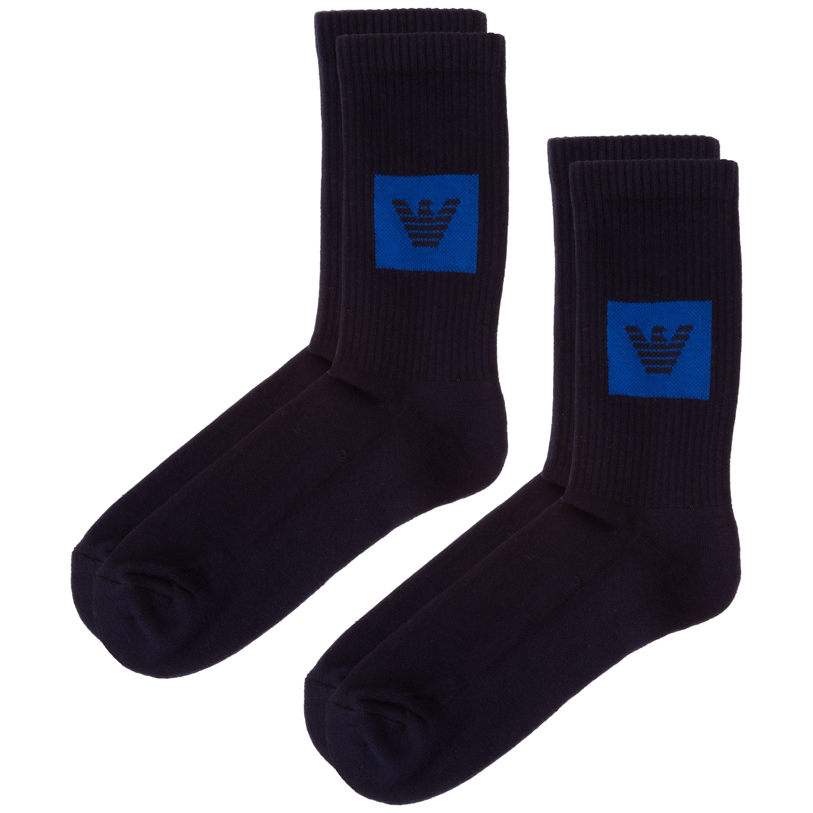 Emporio Armani MEN'S LOW SOCKS BIPACK