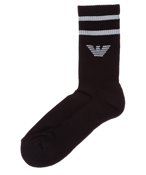Knee high socks Emporio Armani 3031220P30000020 nero
