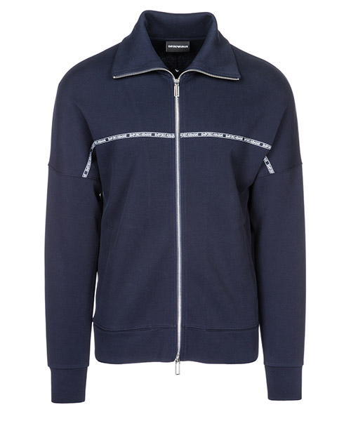 Zip sweatshirt  Emporio Armani 3G1BN31JHTZ0920 blu navy