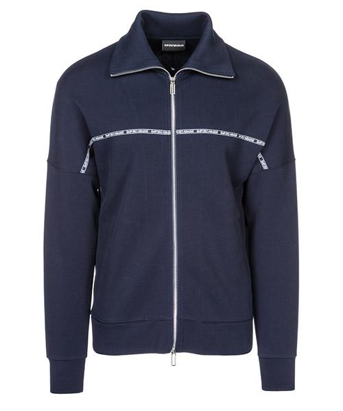Sweat avec zip  Emporio Armani 3G1BN31JHTZ0920 blu navy