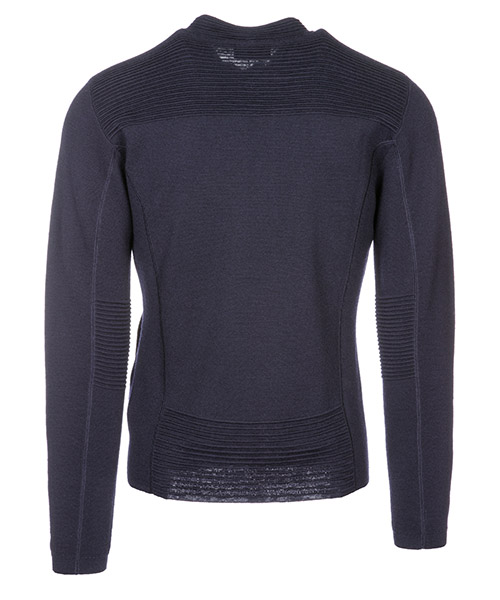Men's jumper sweater pullover con zip secondary image